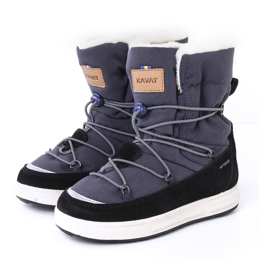 Kavat Vallen Wp Snow Boots---Navy---Unisex---UK9 -UK2