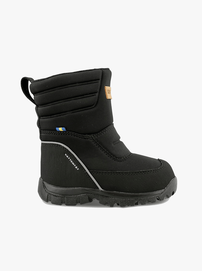 Kavat Voxna Kids Winter Boots---Black---Unisex---UK 5-UK 1