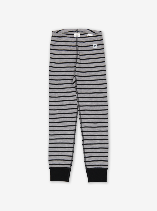 Thermal Merino Kids Long Johns Grey