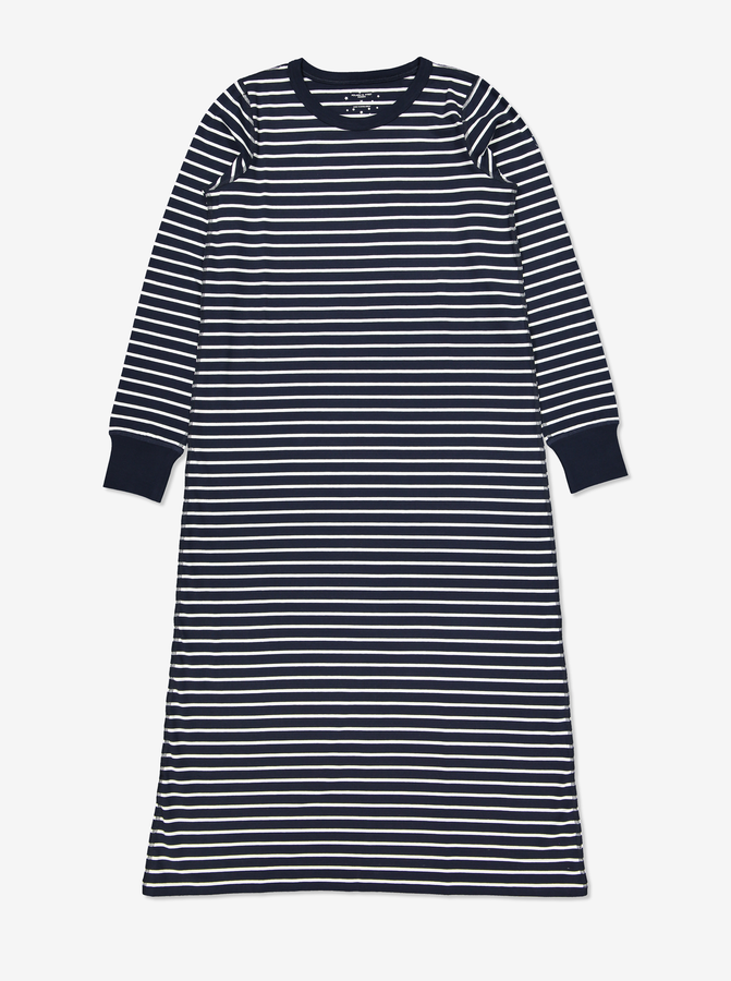 PO.P Stripe Adult NightdressNavyAdultXS-XL