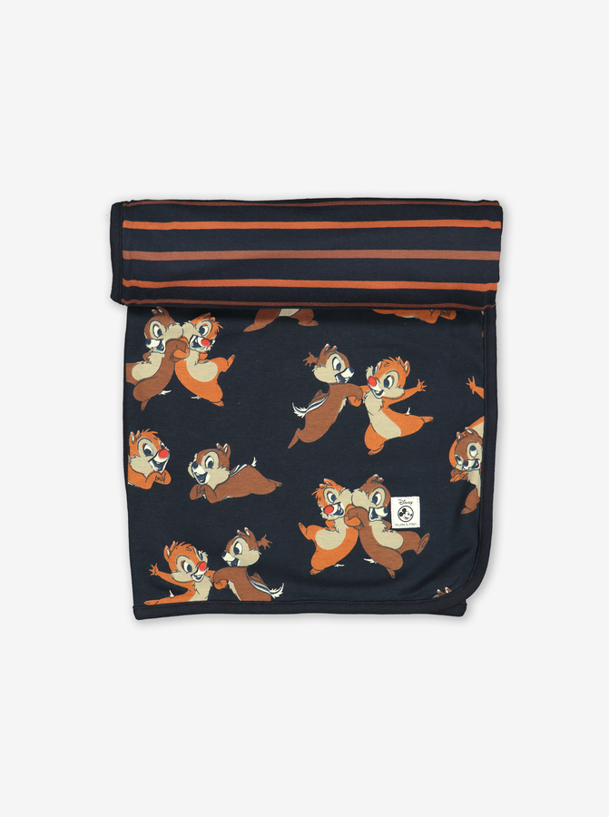 Chip 'N' Dale Reversible Shawl/Blanket Blue