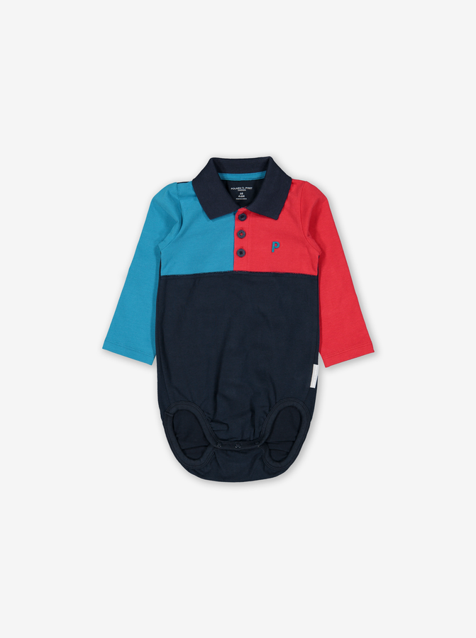Polo Baby Bodysuit Blue