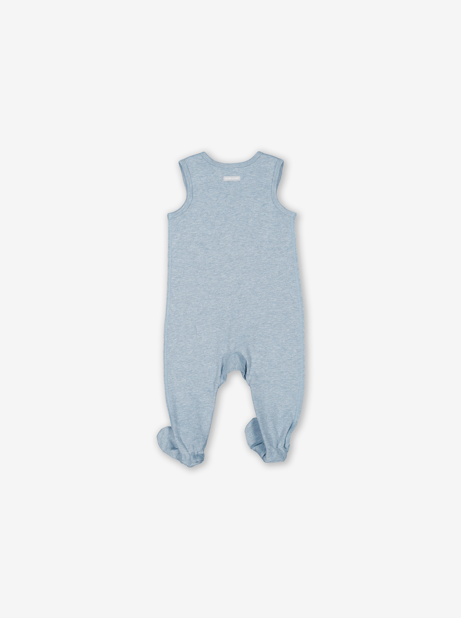 Embroidered Toys Baby Romper Blue