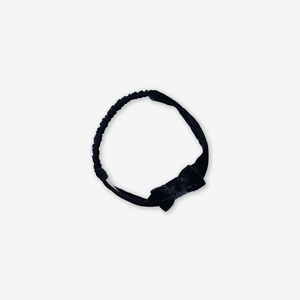 Sparkle Velour Kids Hair Band Blue