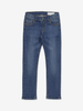 Mid Blue Slim Fit Kids Jeans Blue Unisex 1-12y