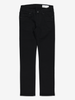 Black Slim Fit Kids Jeans Black Unisex 6-12y