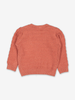Scandi Knitted Baby Jumper-Unisex-0-1y-Orange