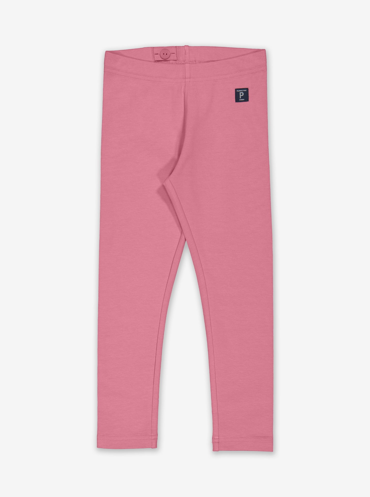 Organic Kids Leggings-Unisex-1-12y-Pink