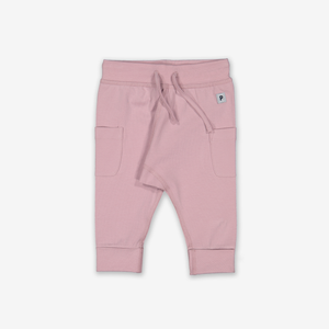 Soft Baby Trousers-Unisex-0-1y-Pink