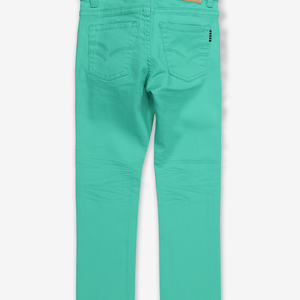 Colourful Kids Jeans-Unisex-1-12y-Turquoise