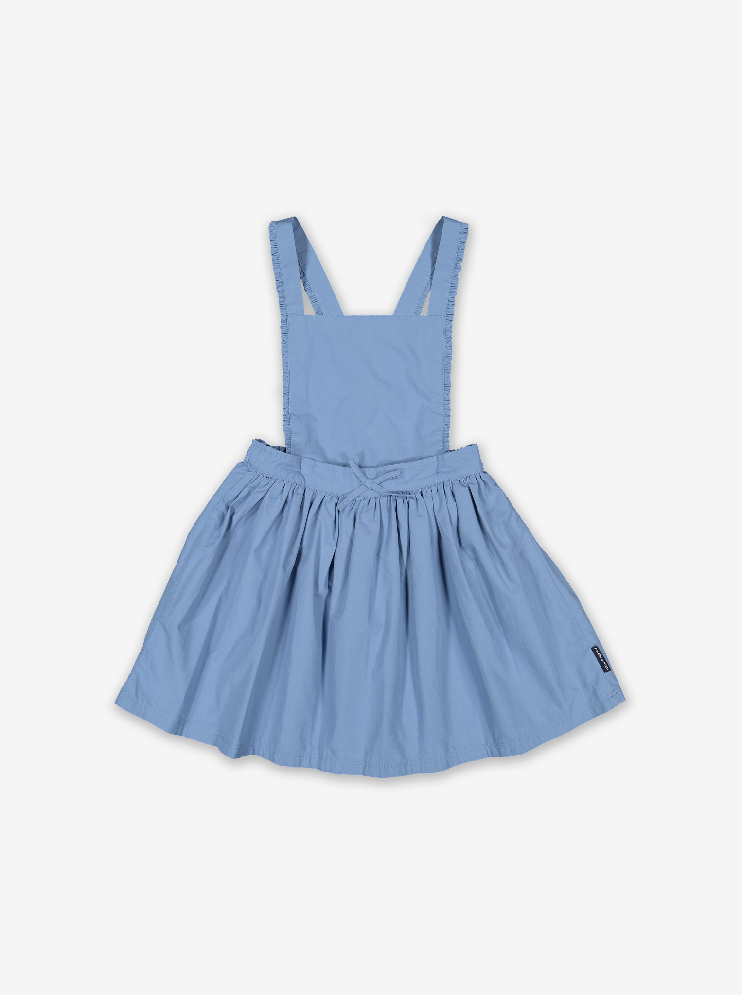 Kids Skirt With Braces-Girl-1-6y-Blue