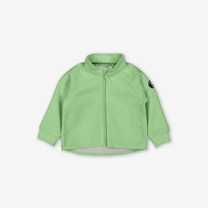 Baby Windproof Fleece Jacket-Unisex-Green-6m-1y