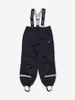 Kids Waterproof Shell Trousers-Unisex-Blue-2-8y