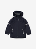 Waterproof Kids Shell Jacket-Unisex-Blue-9m-12y