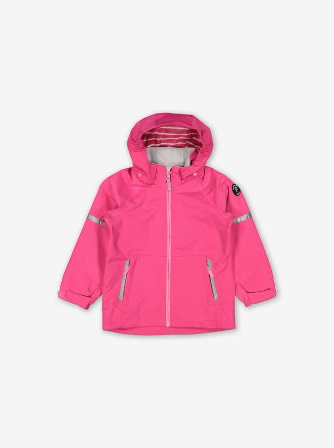 Waterproof Kids Shell Jacket-Girl-Purple-9m-12y