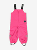 Waterproof Shell Baby Dungarees-Girl-Purple-6m-2y