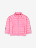 Water Resistant Kids Puffer Jacket-Girl-Pink-6m-6y