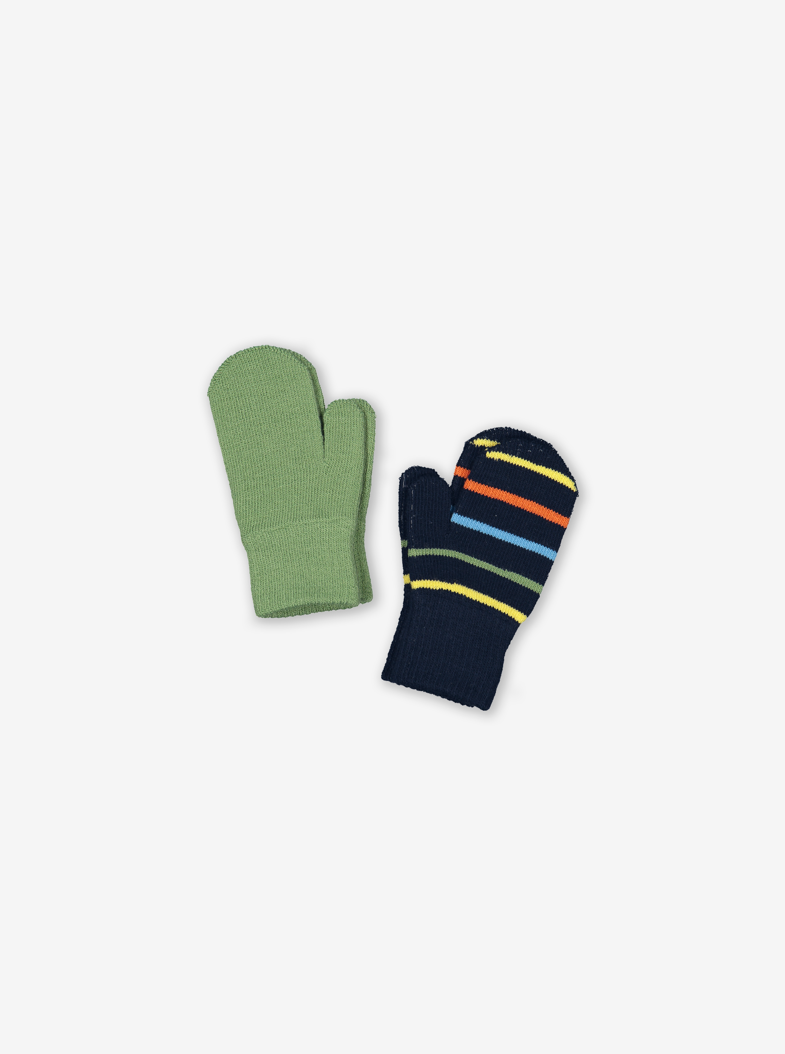 Two Pack Kids Magic Mittens-Unisex-Blue-6m-4y