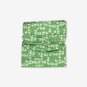 Lightweight Tube Scarf-Unisex-Green-One size