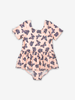 Kids Swimsuit-Girl-2-8y-Pink