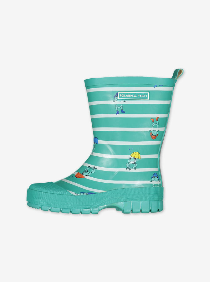 Frogs & Stripes Kids Wellies