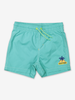 Surf Embroidered Swim Short-Boy-1-12y-Blue