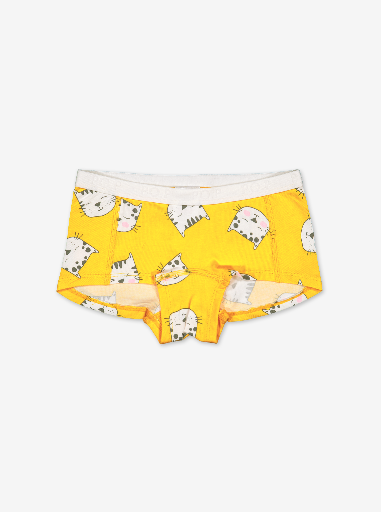Girls Hipster Brief-Girl-1-12y-Yellow