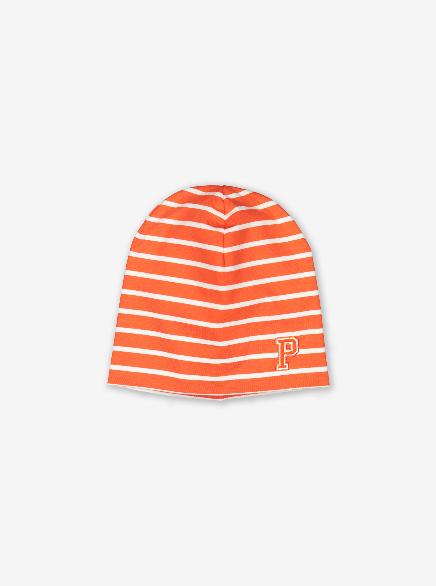 Kids Beanie Hat-Unisex-Orange-9m-12y