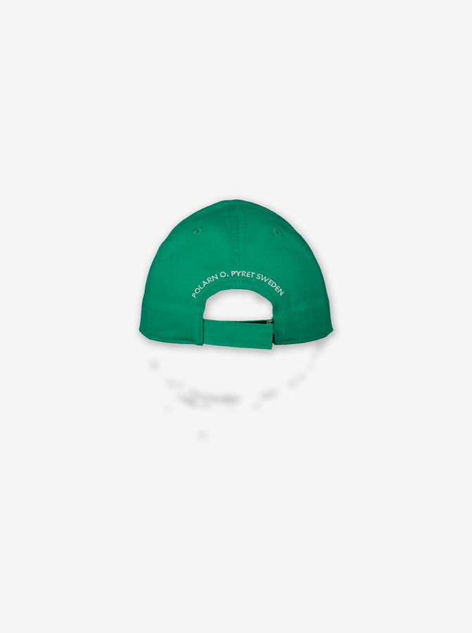 Applique Kids Cap-Unisex-9m-12y-Green