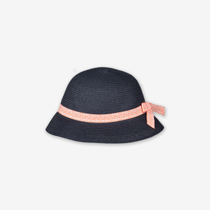 Kids Straw Hat-Girl-9m-12y-Blue