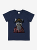 Colour Change Horse Kids T-Shirt-Unisex-1-12y-Blue