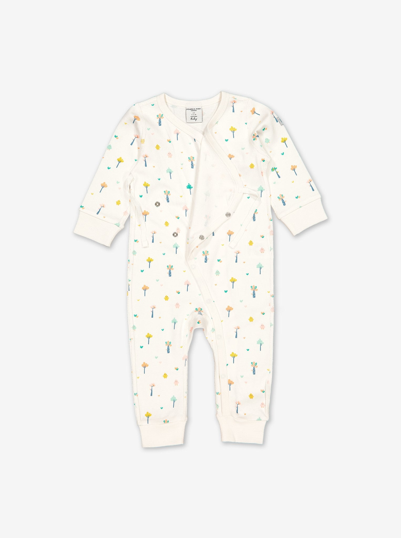 Little Tree Wraparound Baby Romper
