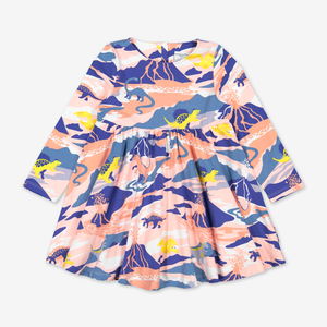 Dinosaur Print Kids Dress
