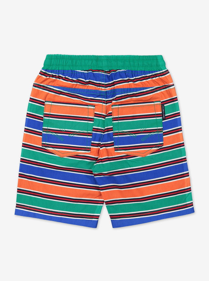 Striped Kids Shorts