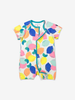 Lemon Print Kids Onesie Pyjamas-Girl-0-4y-White