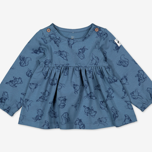 Bambi Baby Top & Shorts Set-Girl-0-1y-Blue