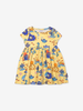 Twirl dress with underwater print-Girl-1-6y-Yellow