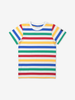 Multi Stripe Kids T-Shirt