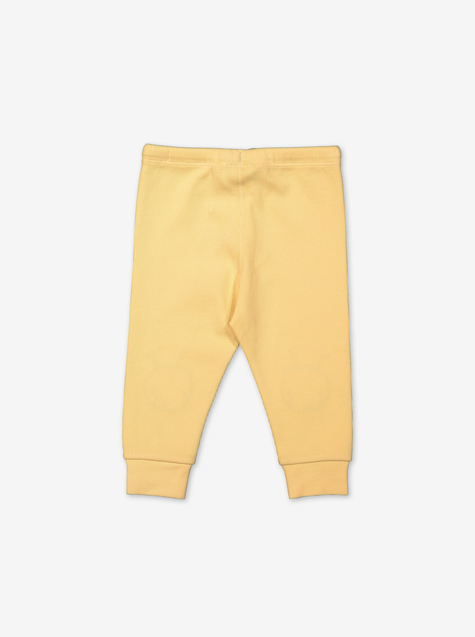 Busy Bee Baby Trousers-Unisex-0-1y-Yellow