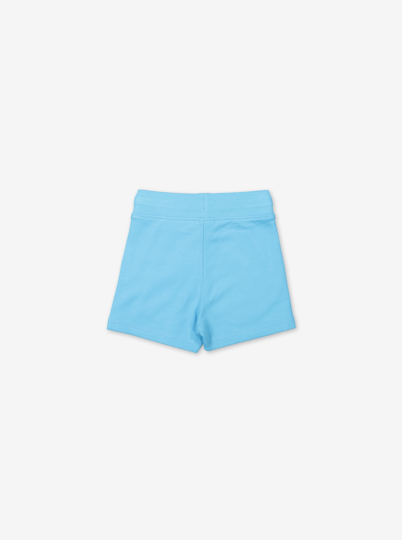 Soft Cotton Baby Shorts-Unisex-0-1y-Turquoise