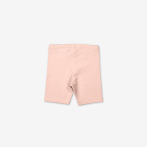 Jersey Baby Shorts-Girl-0-1y-Pink