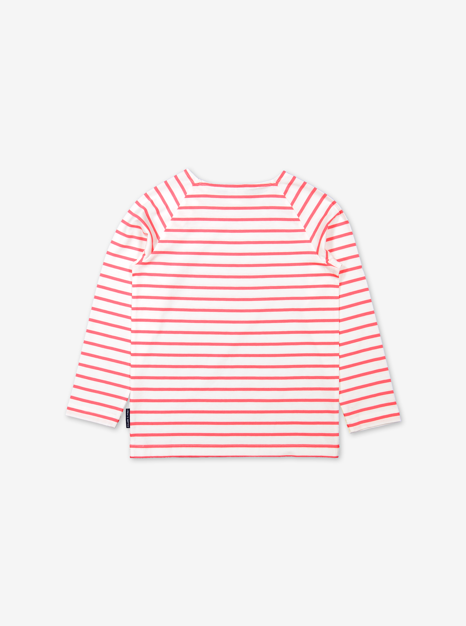 Breton Stripe Kids Top-Unisex-1-12y-Pink