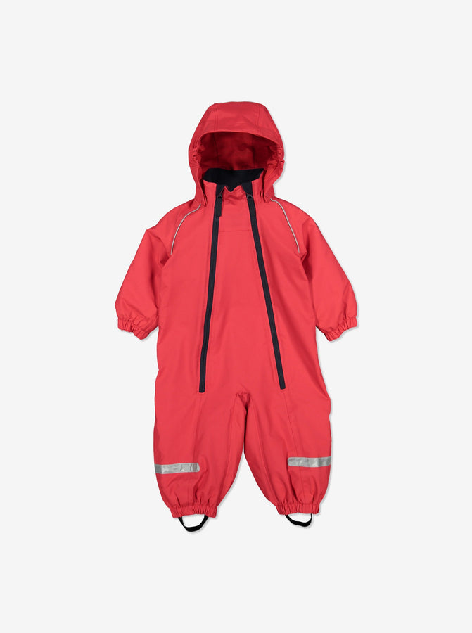 Baby Red Waterproof Overall
