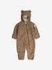 Teddy Fleece Baby Pramsuit-0-1y-Beige-Unisex