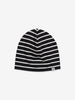 Fleece lined Kids Beanie Hat-9m-9y-Black-Boy