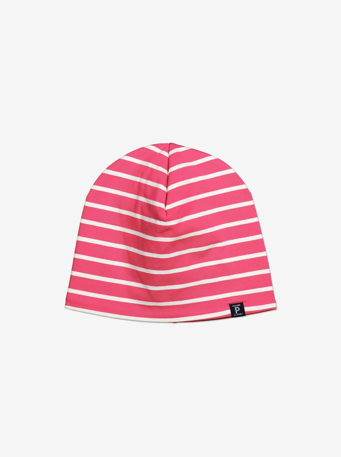 Fleece lined Kids Beanie Hat-9m-9y-Pink-Girl