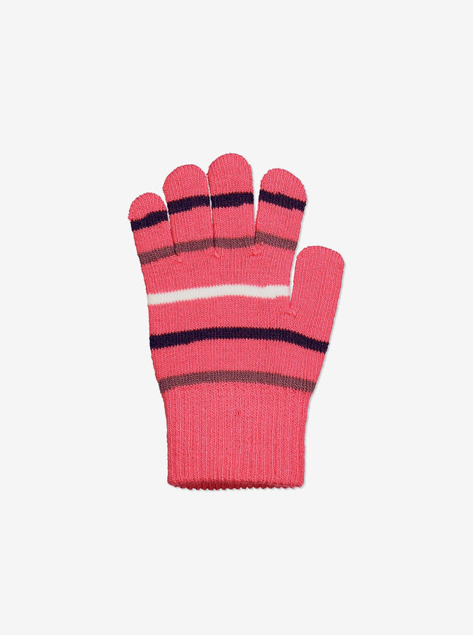 Two Pack Kids Magic Gloves-6m-12y-Pink-Girl