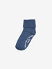 Two Pack Antislip Kids Socks-Unisex-4m-6y-Blue