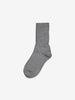 Unisex Grey Thermal Merino Wool Kids Socks 4m-12y