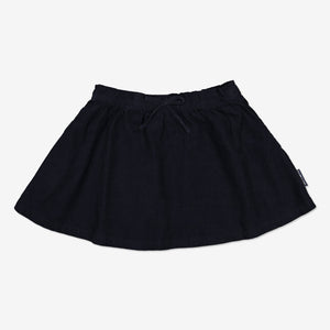 Corduroy Kids Skirt with Braces